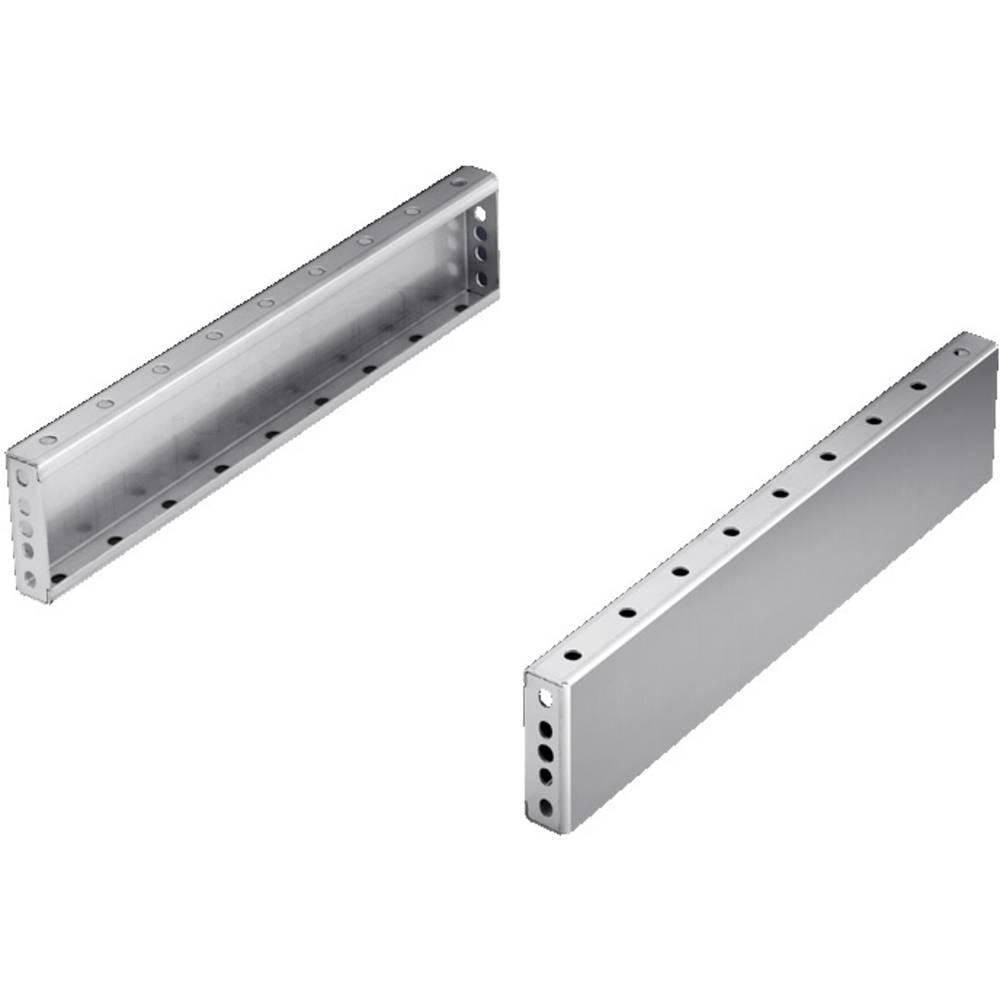 Sokkelblænde Rittal TS 8701.040 (B x H) 400 mm x 100 mm Rustfrit stål Rustfrit stål 1 stk