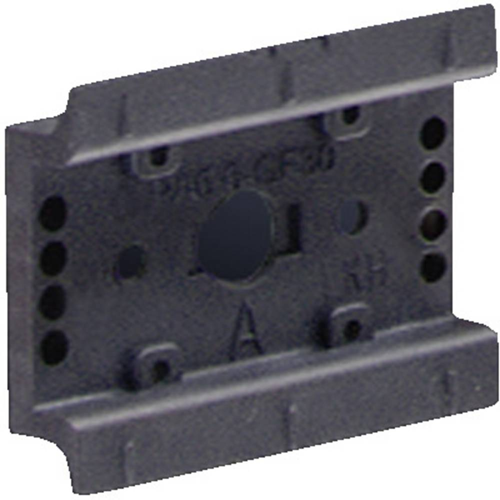 DIN-skinne OM-adapter Rittal SV 9342.850 perforeret Polyamid 5 stk
