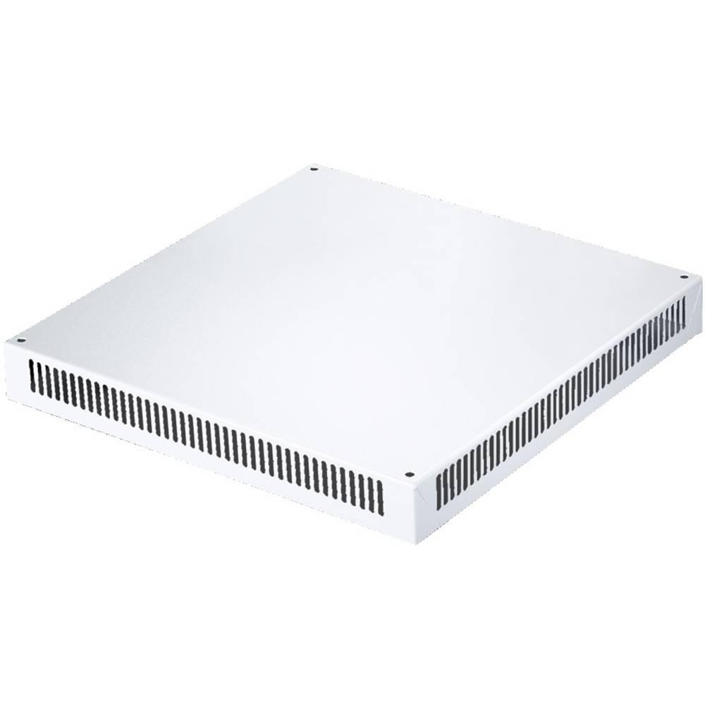 Tagplade Rittal SV 9671.846 Ventilation (L x B x H) 600 x 400 x 72 mm Stålplade Lysegrå (RAL 7035) 1 stk
