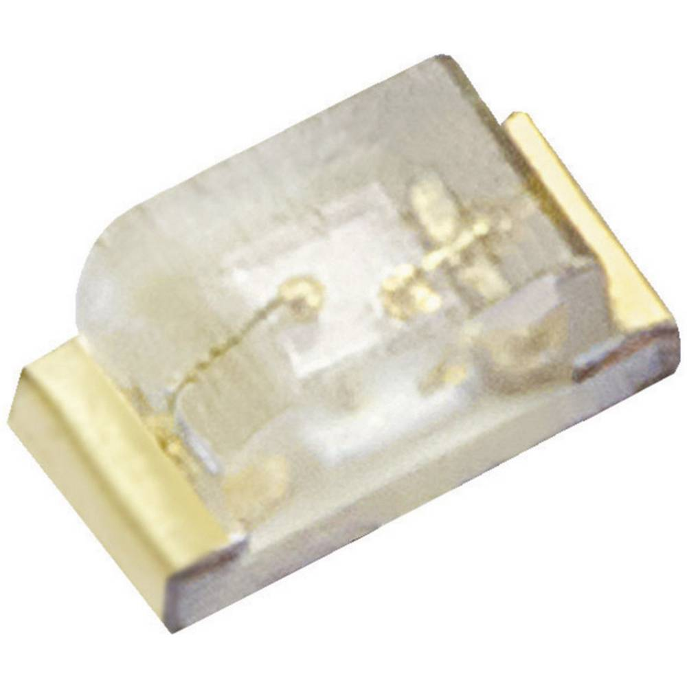 SMD-LED (value.1317393) Kingbright KPHHS-1005CGCK 0402 50 mcd 120 ° Grøn