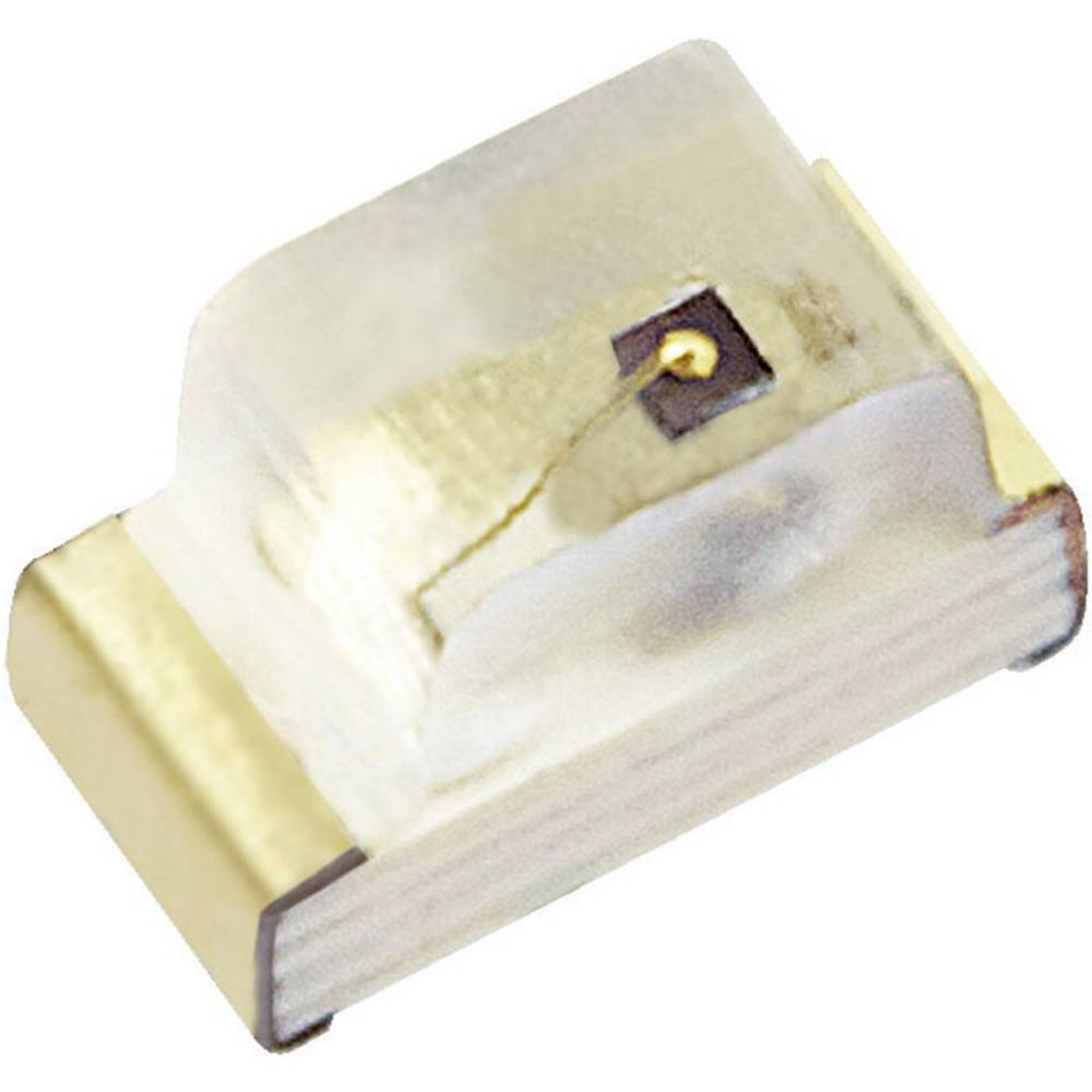 SMD-LED 0603 rdeča 80 mcd 120 ° 20 mA 1.95 V Kingbright KP-1608SURCK