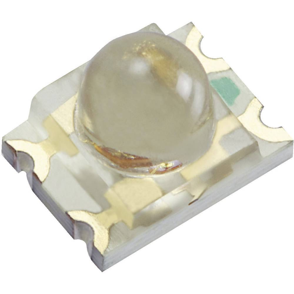 SMD-LED mehrfarbig (value.1317397) Kingbright KPBD-3224QBDSEKC særlig form 300 mcd, 400 mcd 20 ° Blå , Orange