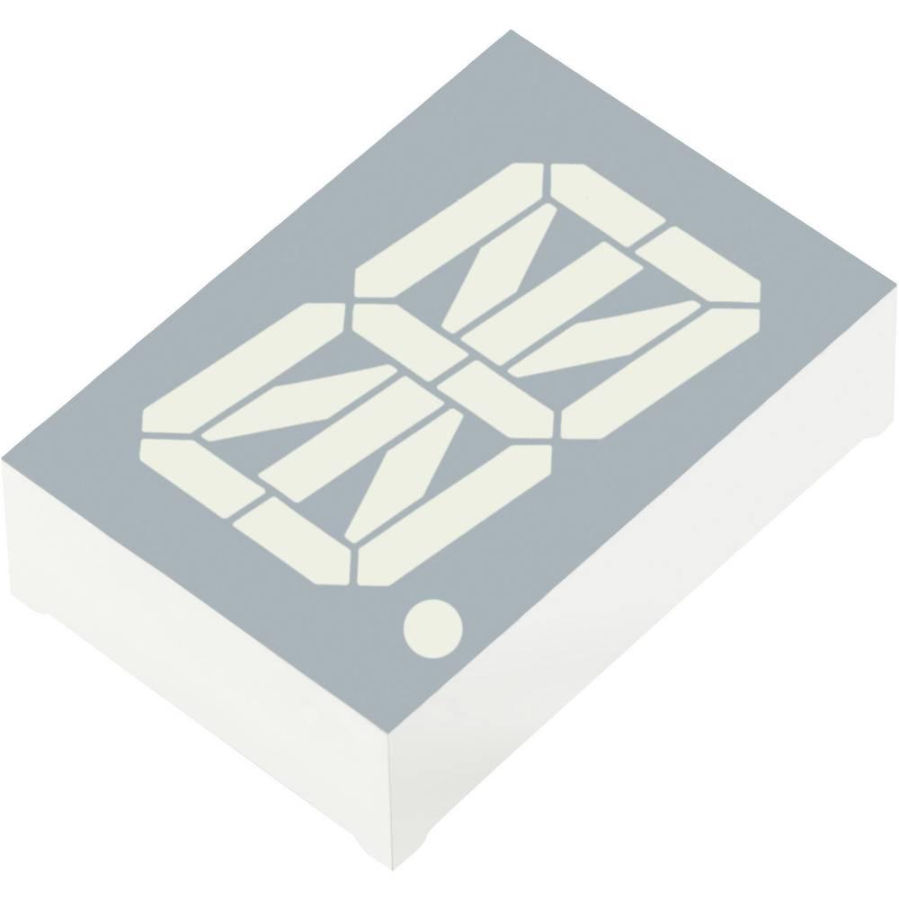 Alfanumeriske segment-display Kingbright 30.48 mm 3.7 V Rød
