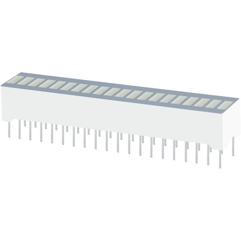LED grafični prikazovalnik, zelena (Š x V x G) 50.7 x 10.16 x 8 mm Kingbright DC-20/20CGKWA