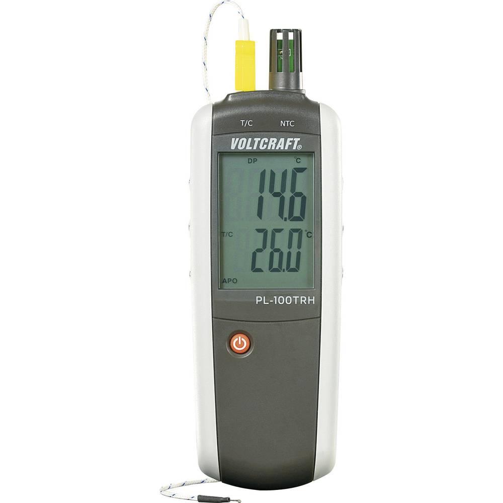 Merilnik vlažnosti zraka (higrometer) VOLTCRAFT PL-100TRH 0 % rF 100 % rF kalibracija narejena po: DAkkS