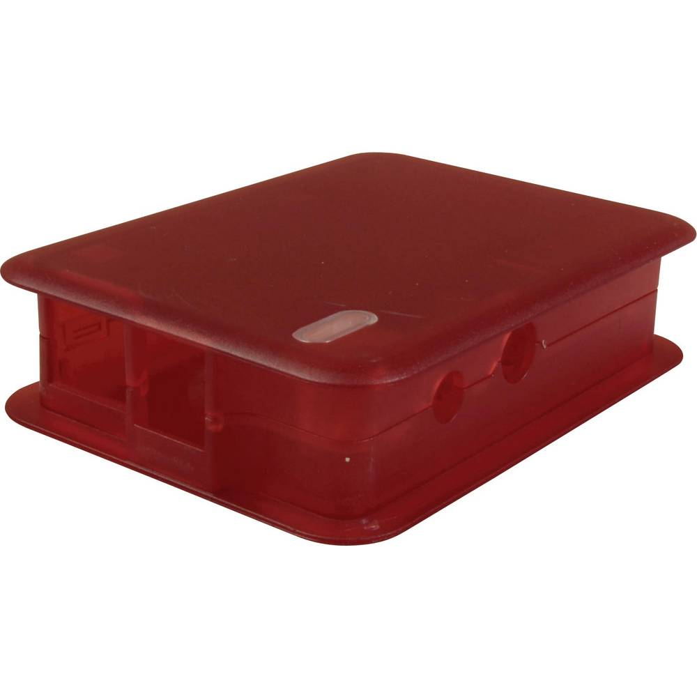 Raspberry Pi® ohišje TEK-BERRY.25 rdeča (transparent) TEKO