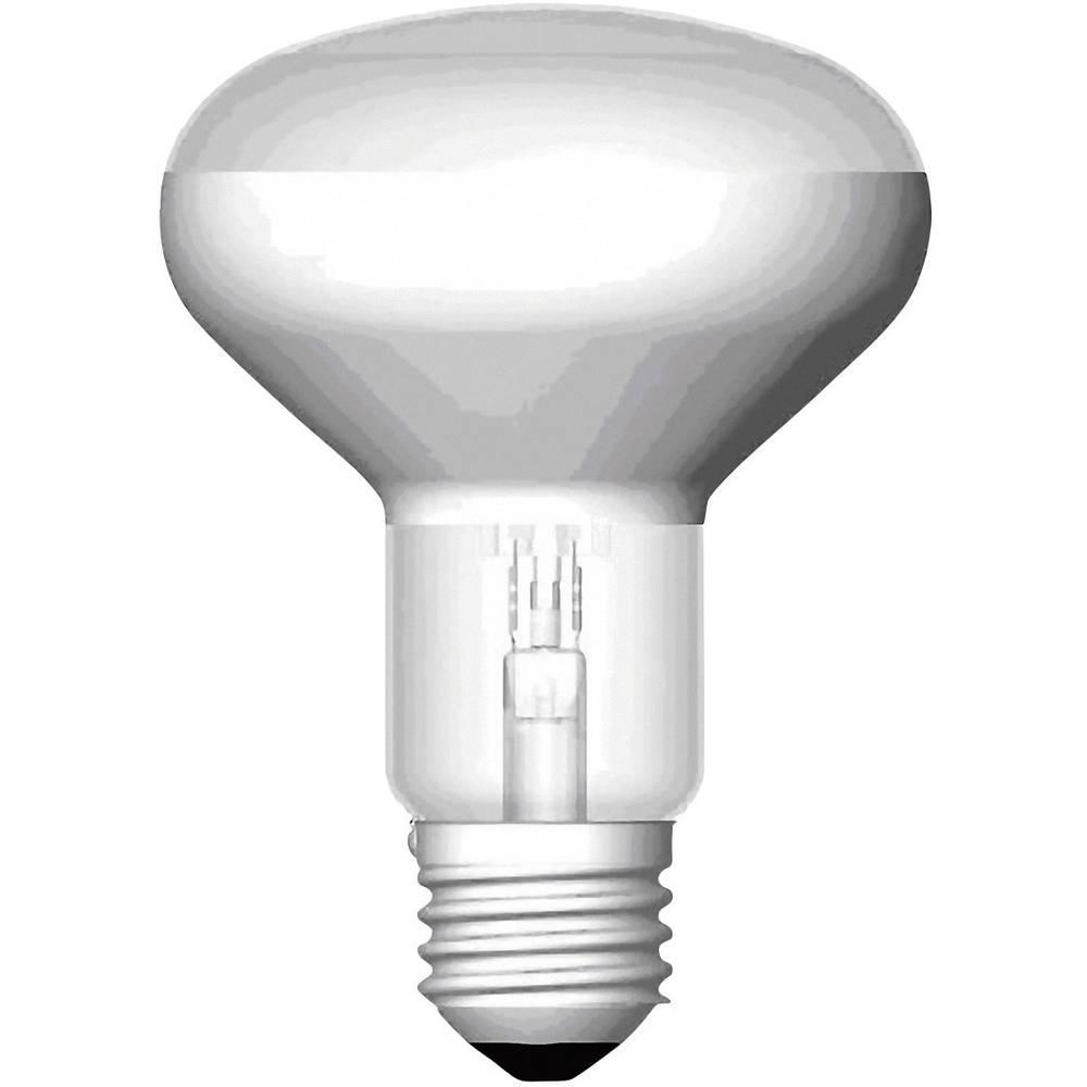 Halogena žarulja OSRAM 115 mm E27 57 W = 77 W toplo bijela reflektor prigušivanje