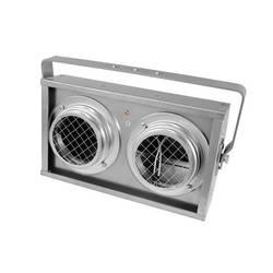 Halogenski reflektor Eurolite Audience Blinder 2xPAR-36, aluminij DMX,1-kanalni