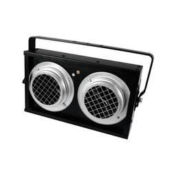 Halogenski reflektor Eurolite Audience Blinder 2xPAR-36, črni, DMX, 1-kanalni