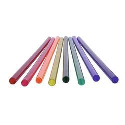 Barvna cev za T8 neonsko svetlobno cev, 59cm 590 mm rumena 511046A2 Eurolite