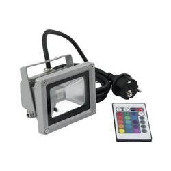Zunanji LED-Spot reflektor, število LED diod: 1 Eurolite LED IP FL-10