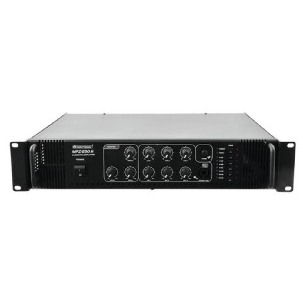 ELA ojačevalnik Omnitronic MPZ-250.6 250 W 6 con