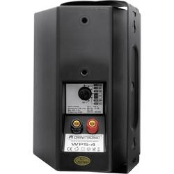 Omnitronic WPS-4S pa-zidni zvočnik črna 1 kos