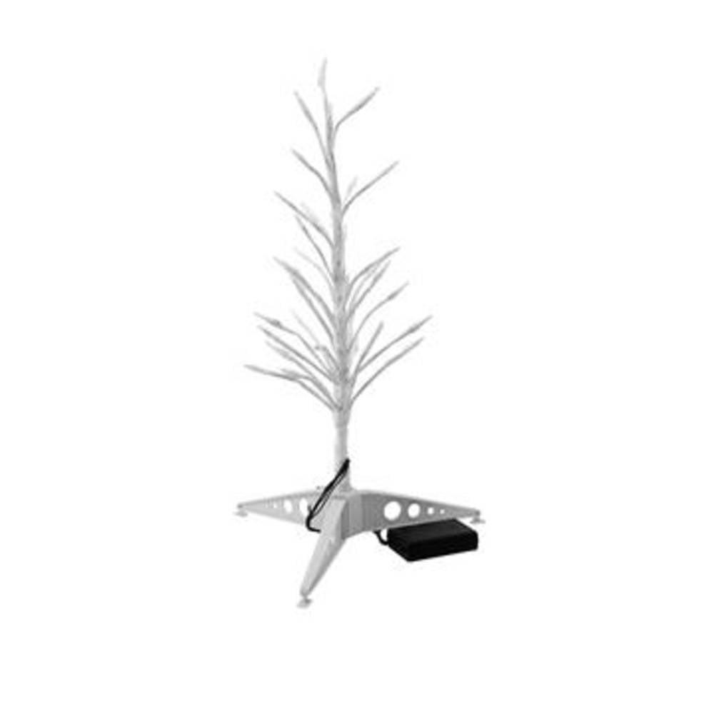 Talna dekoracija - Božično drevo LED Europalms 83330340 bela