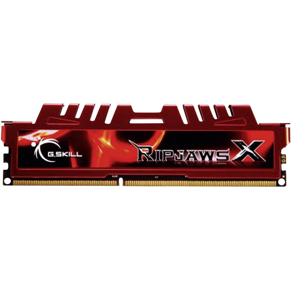 G.Skill PC pomnilniški komplet RipjawsX F3-12800CL10D-16GBXL 16 GB 2 x 8 GB DDR3-RAM 1600 MHz CL10 10-10-30