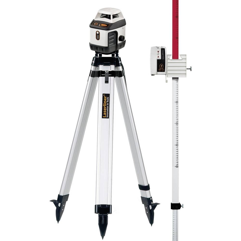 Automatiski okretni laser mit laserskim prijamom, stativom i mjernom letvom Laserliner 046.04.00A