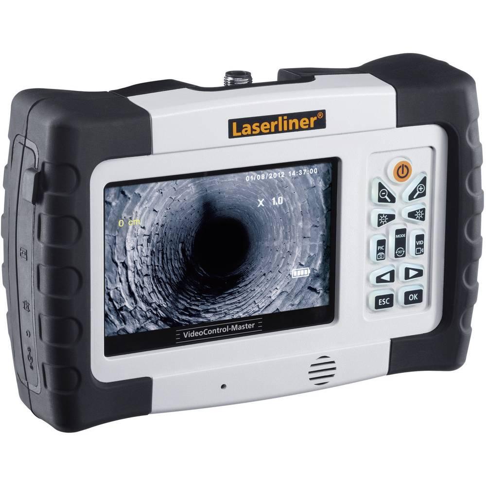 Endoskop-osnovna enota Laserliner 084.100A TV-izhod, SD-reža za kartice, LED-osvetlitev, avtomatsko prestavljanje, slikovna funk