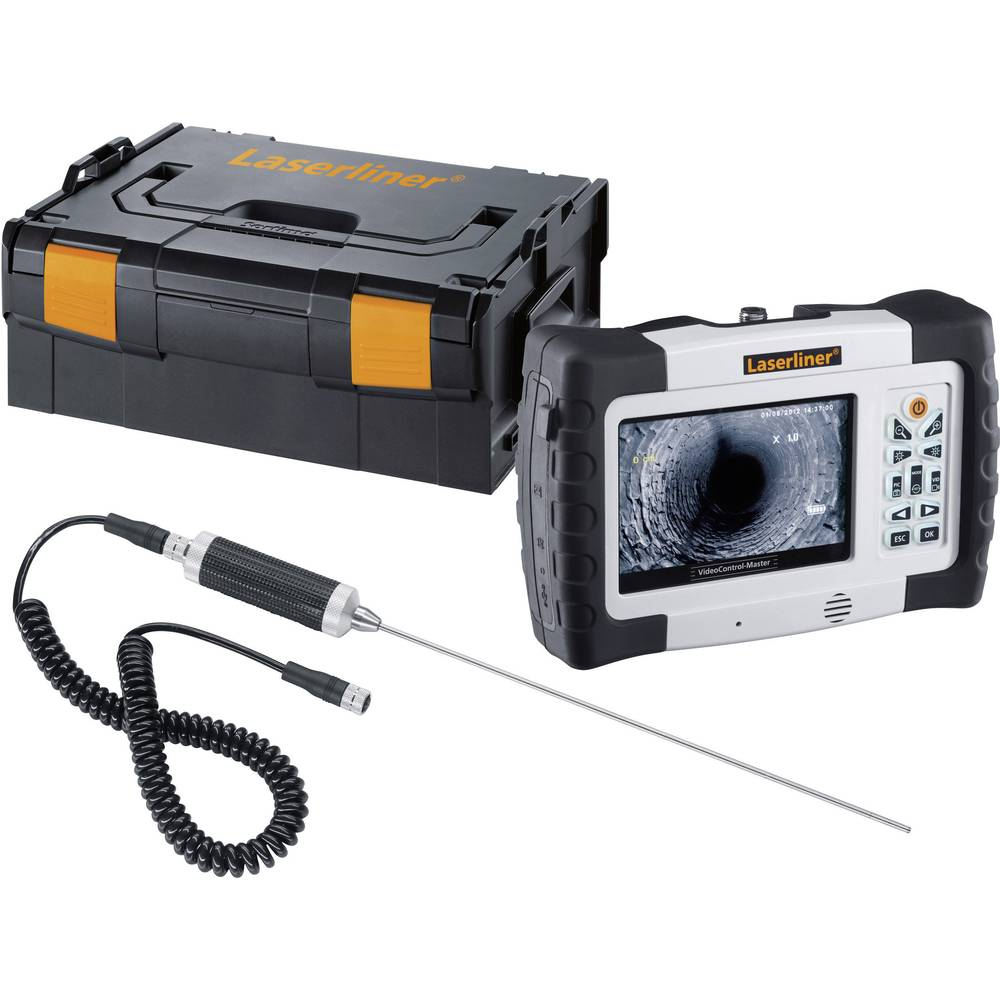 Endoskop Laserliner 084.104L premer sonde-: 4 mm TV-izhod, SD-reža za kartice, LED-osvetlitev, avtomatsko prestavljanje, slikovn