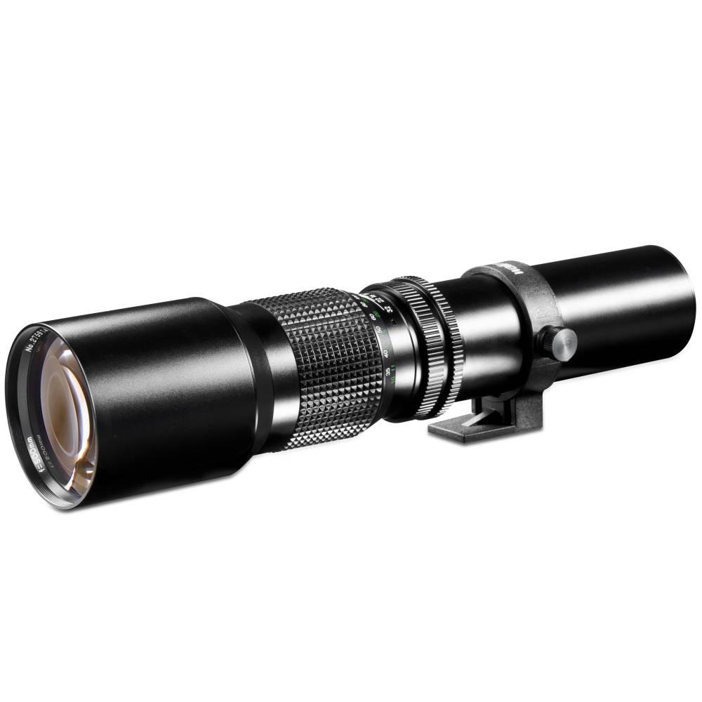 Teleobjektiv Walimex Linsenobjektiv f/1 - 8.0 500 mm