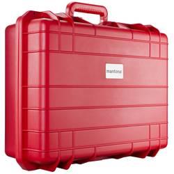 kovček za kamero Mantona Outdoor Schutz-Koffer L, rot Notranje mere (Š x V x G)=350 x 480 x 110 mm vodotesna