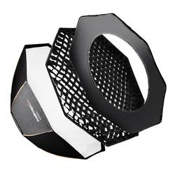 softbox Walimex Pro Octagon PLUS Orange Line (Ø x D) 90 cm x 37 cm 1 kos