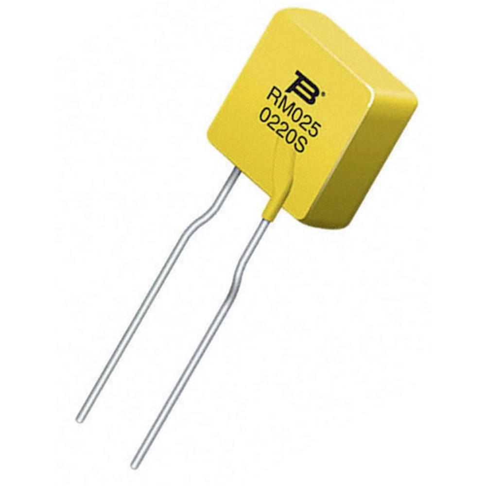 PTC-varovalka I(H) 0.25 A 240 V (D x Š x V) 27.6 x 10 x 3.8 mm Bourns MF-RM025/240-2 1 kos