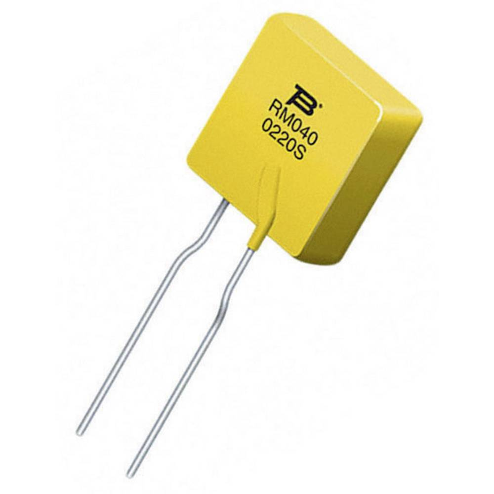 PTC-varovalka I(H) 0.4 A 240 V (D x Š x V) 28.5 x 11.5 x 3.8 mm Bourns MF-RM040/240-2 1 kos