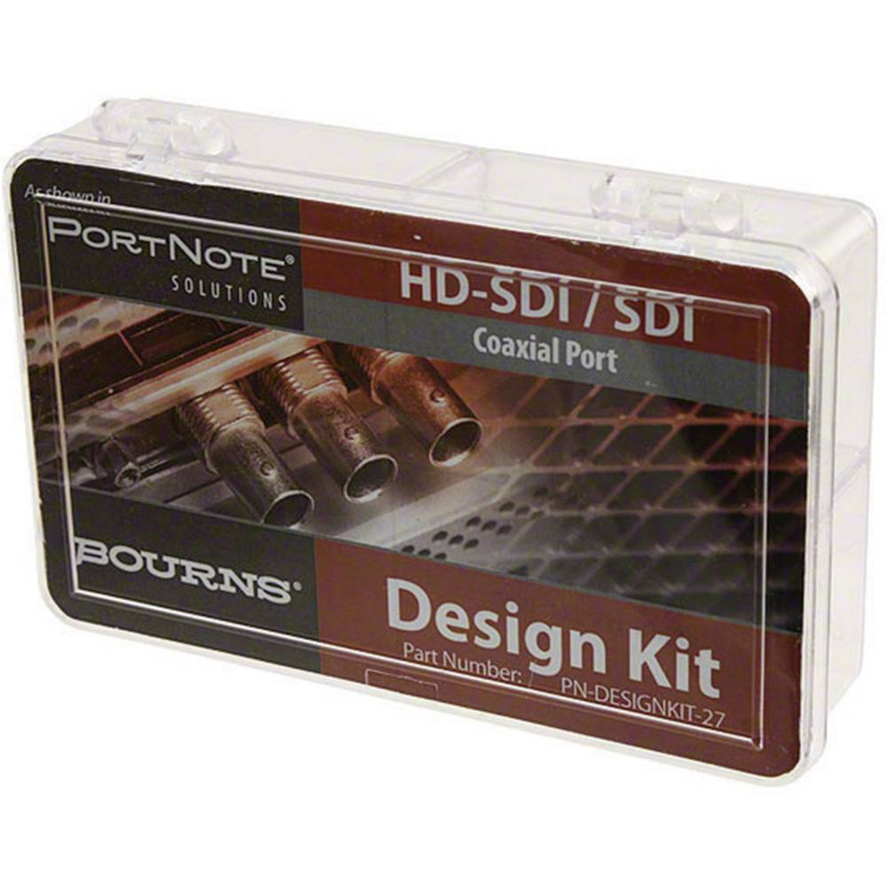 HD-SDI, SDI-koaksialni zaščitni komplet SMT Bourns PN-DESIGNKIT-27 15 delni