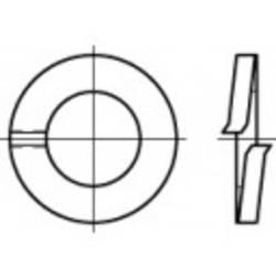 Fjäderringar Inre diameter: 10.2 mm DIN 127 Fjäderstål 100 st TOOLCRAFT 105602
