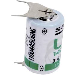 Posebna litijeva baterija Saft 1/2 AA 3 x spajkalni zatič ++/- 3.6 V 1200 mAh 1/2 AA (Ø x V) 15 mm x 25 mm