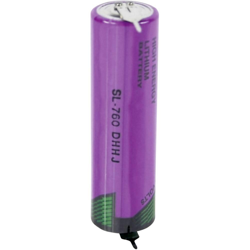 Posebna litijeva baterija Tadiran Mignon 2 x spajkalni zatič 3.6 V 2200 mAh Mignon (AA) (Ø x V) 15 mm x 50 mm