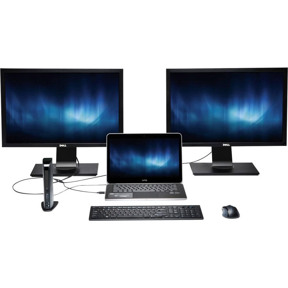 USB 3.0 univerzalna stanica za prihvat Kensington s Dual DVI/HDMI/VGA Video (sd3500v)