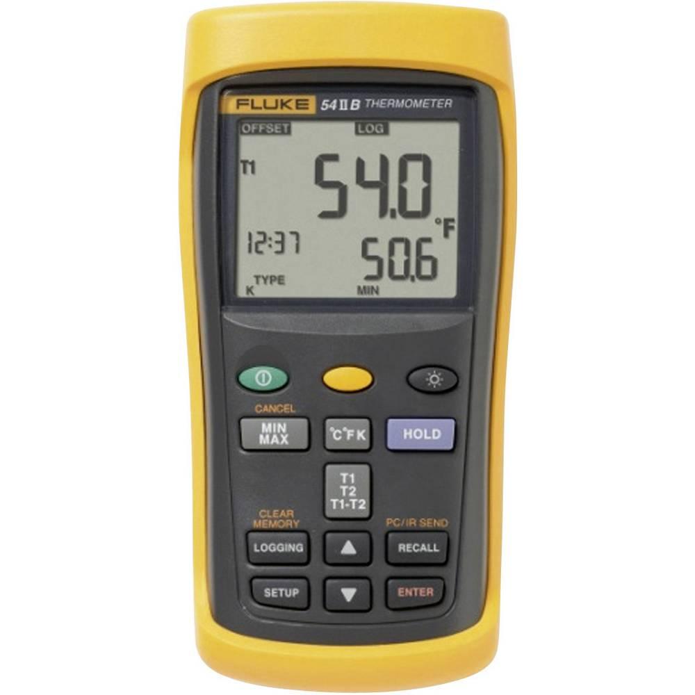 Merilnik temperature Fluke 53-2 50 B HZ -250 do +1767 °C vrsta tipala: E, J, K, N, R, S, T kalibracija narejena po: DAkkS