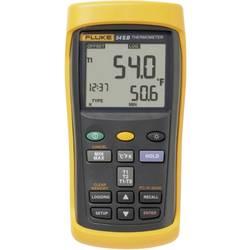 Mjerač temperature Fluke 53-2 50 B HZ -250 do +1767 °C tip osjetnika E, J, K, N, R, S, T kalibriran prema: tvorničkom standardu