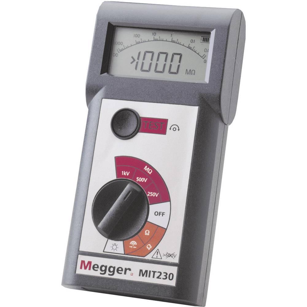 Megger MIT230 merilnik izolacije 250 V, 500 V, 1000 V 0.01 - 999 M CAT III / 600 V