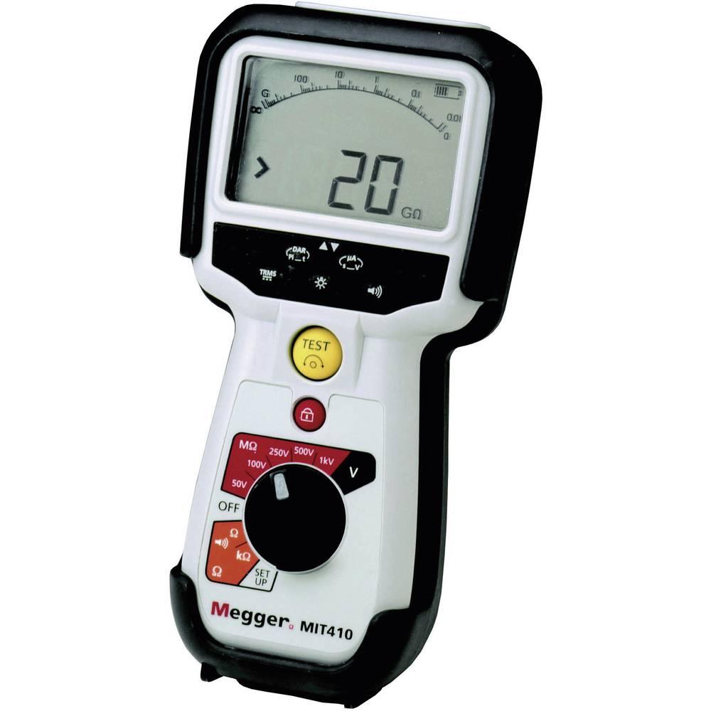 Megger MIT410/2 merilnik izolacije 50 V, 100 V, 250 V, 500 V, 1000 V 0,1 M - 100 G CAT IV / 600 V
