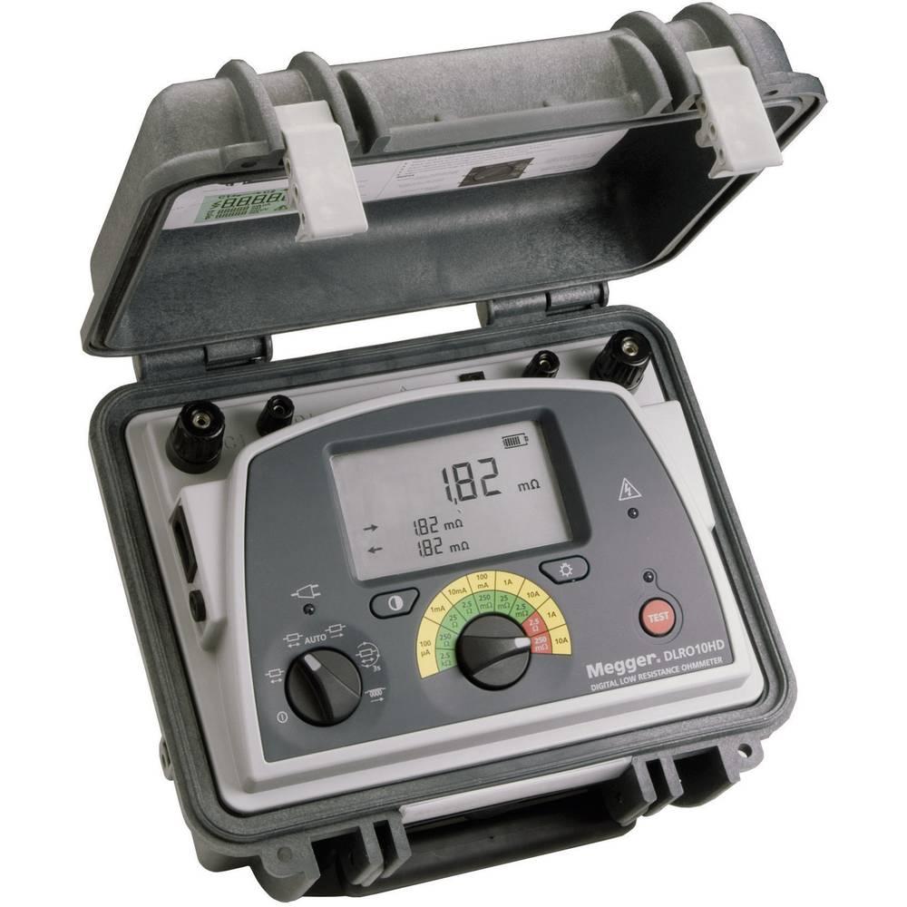 Mikro ometar DLRO10HD Megger 10-A ispitne struje, mjerač izolacije