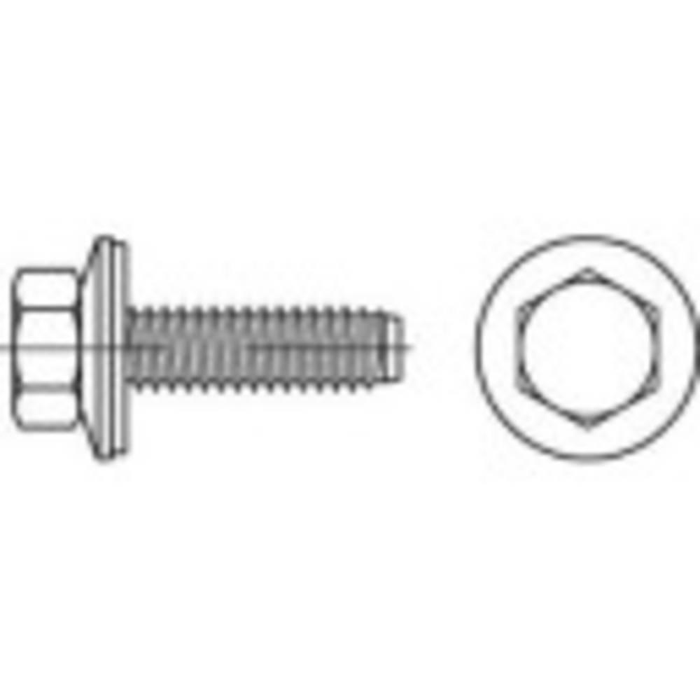 Fasadskruvar TOOLCRAFT 32 mm Yttersexkant 88276 Rostfritt stål A2 400 st