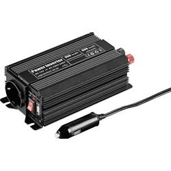 Izmjenjivač Goobay 67922 300 W 12 V/DC 12 - 13.8 V/DC utikač za cigaretni upaljač, utičnica sa zaštitom od prenapona, USB