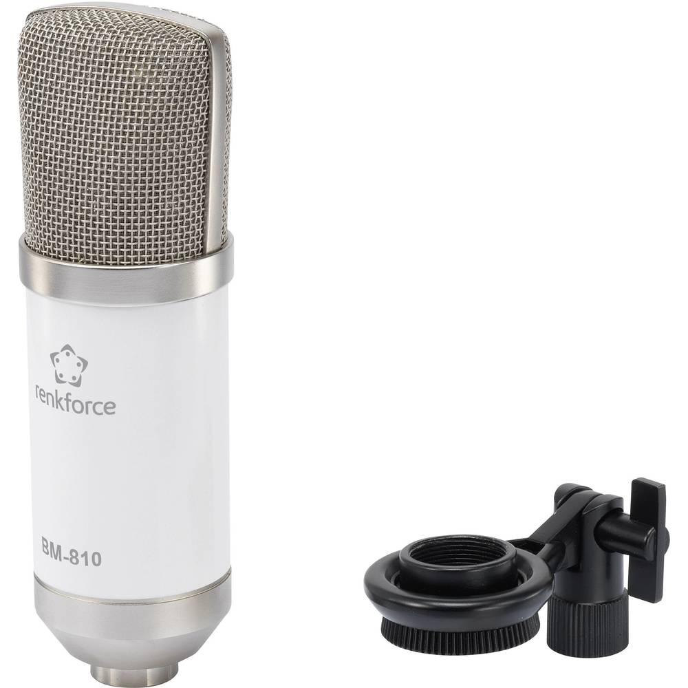 Studijski mikrofon Renkforce BM-810 W