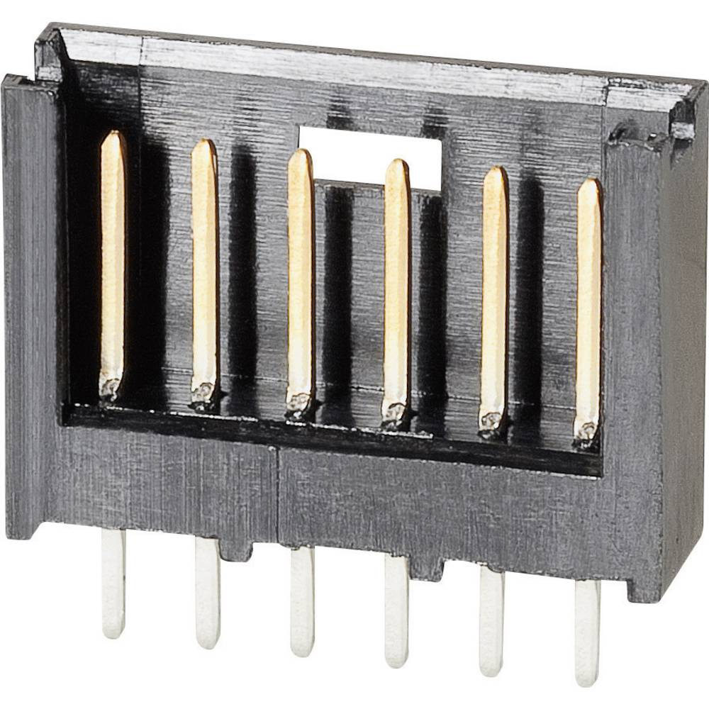 Stiftliste (standard) AMPMODU MOD II Samlet antal poler 8 TE Connectivity 280373-2 Rastermål: 2.54 mm 1 stk