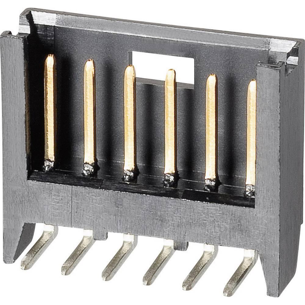 Stiftliste (standard) AMPMODU MOD II (value.1360573) Samlet antal poler 2 TE Connectivity 280377-1 Rastermål: 2.54 mm 1 stk