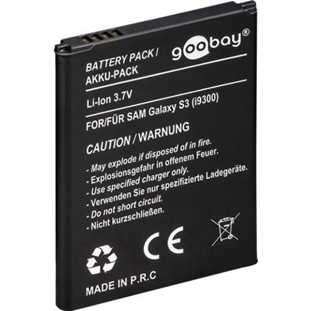Li-Ion mobitel baterija 2100 mAh za Samsung Galaxy S3 i9300 (oznaka original: EB-L1G6LLU, EB-L1H2LLU) 43116 Goobay