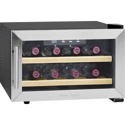 Vinski hladnjak za 8 boca 23 l Profi Cook PC-WC1046 energ. razred: A+ plemeniti čelik, crna boja