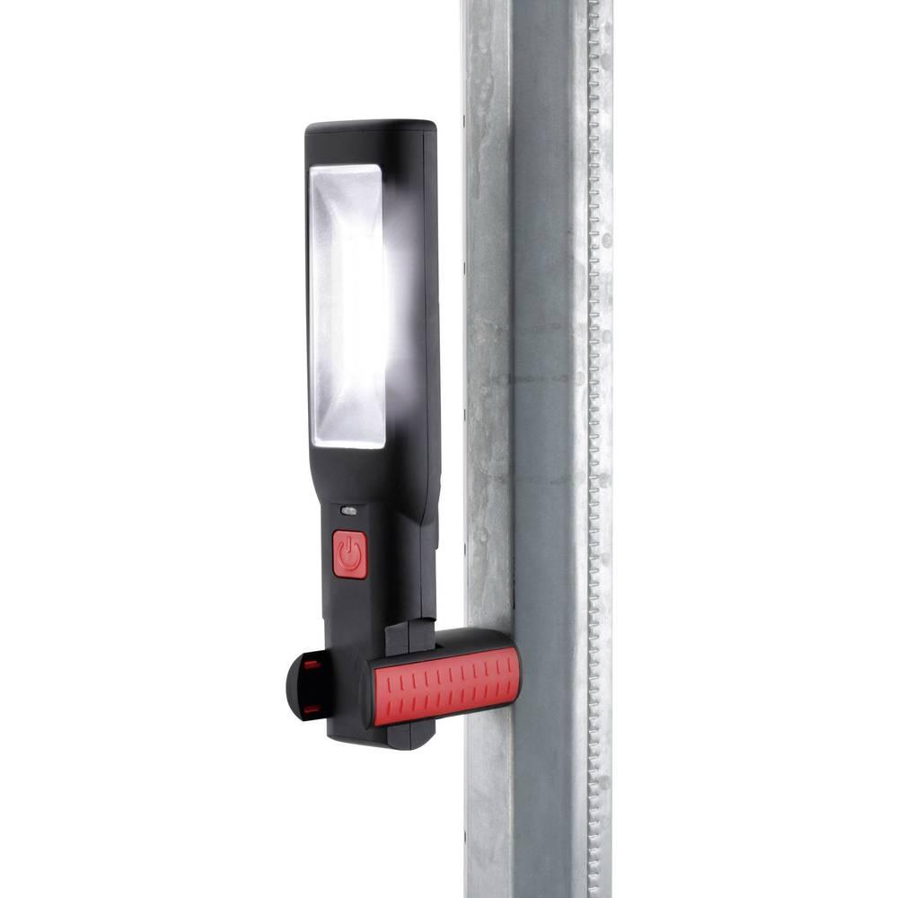 Delovna LED svetilka Ampercell, črne barve, 9030, 7 belih LED žarnic, COB LED - 100 % > 2,