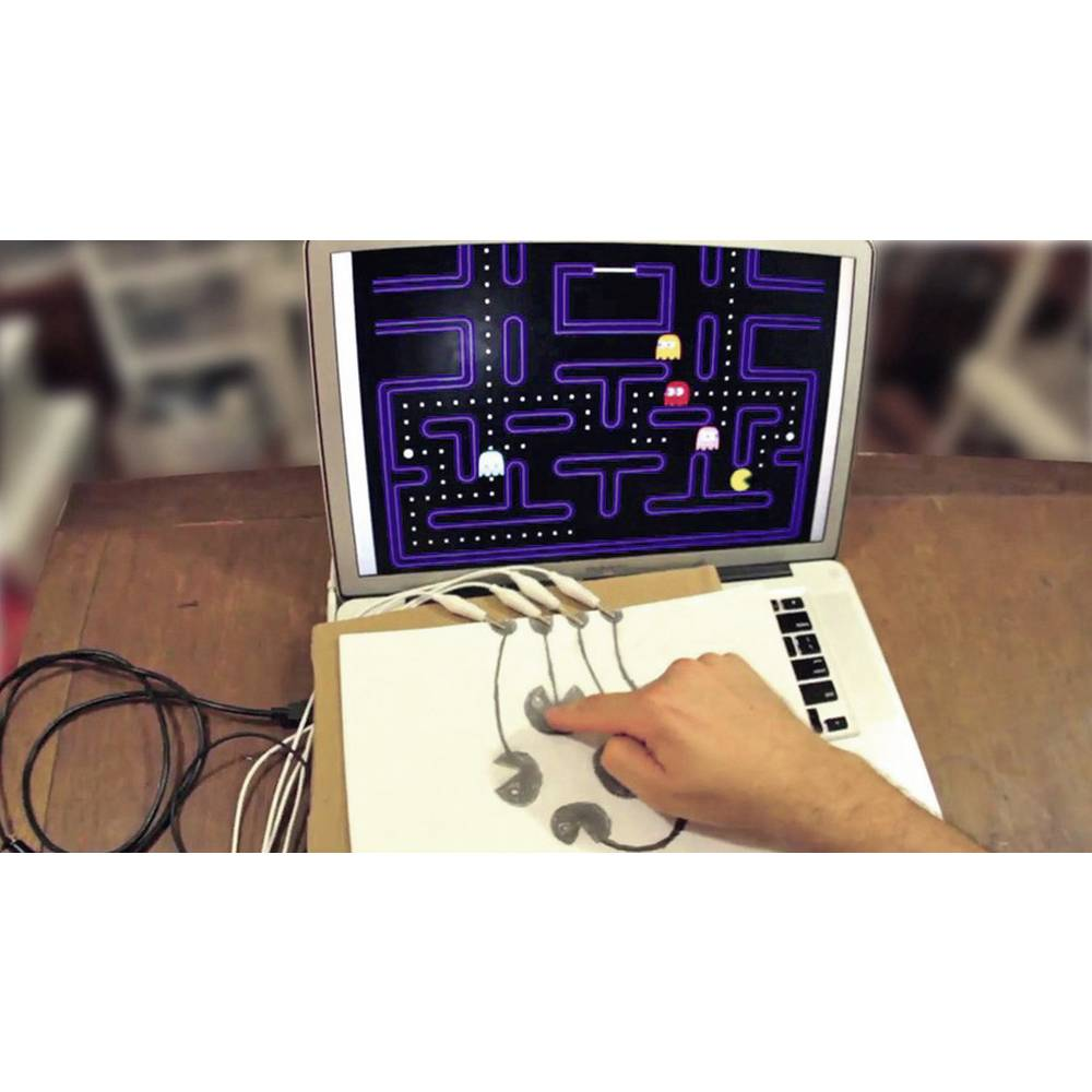 Gamepad MAKEY MAKEY za PC crni, crveni, bijeli