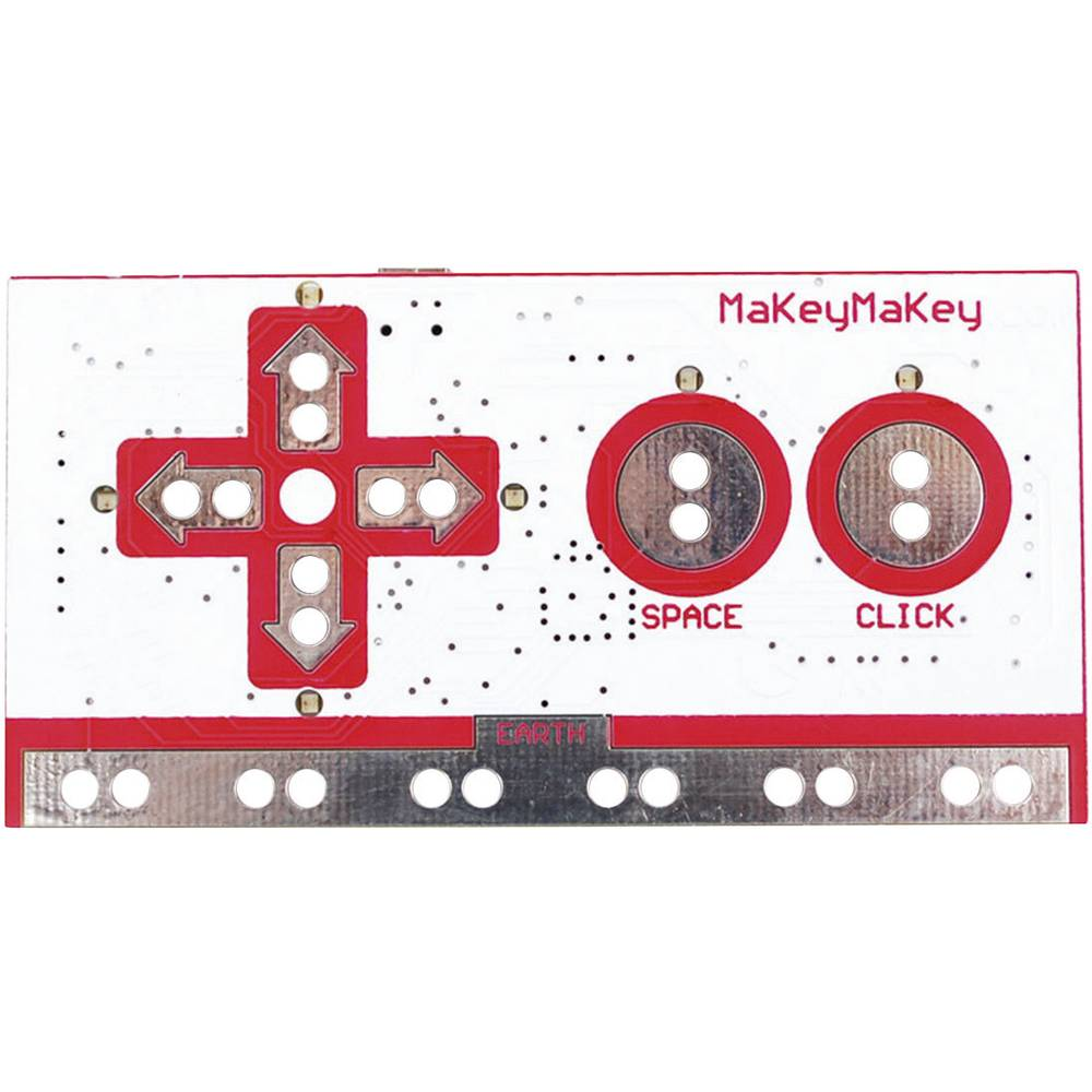 Igralni plošček MAKEY MAKEY PC črna, rdeča, črna
