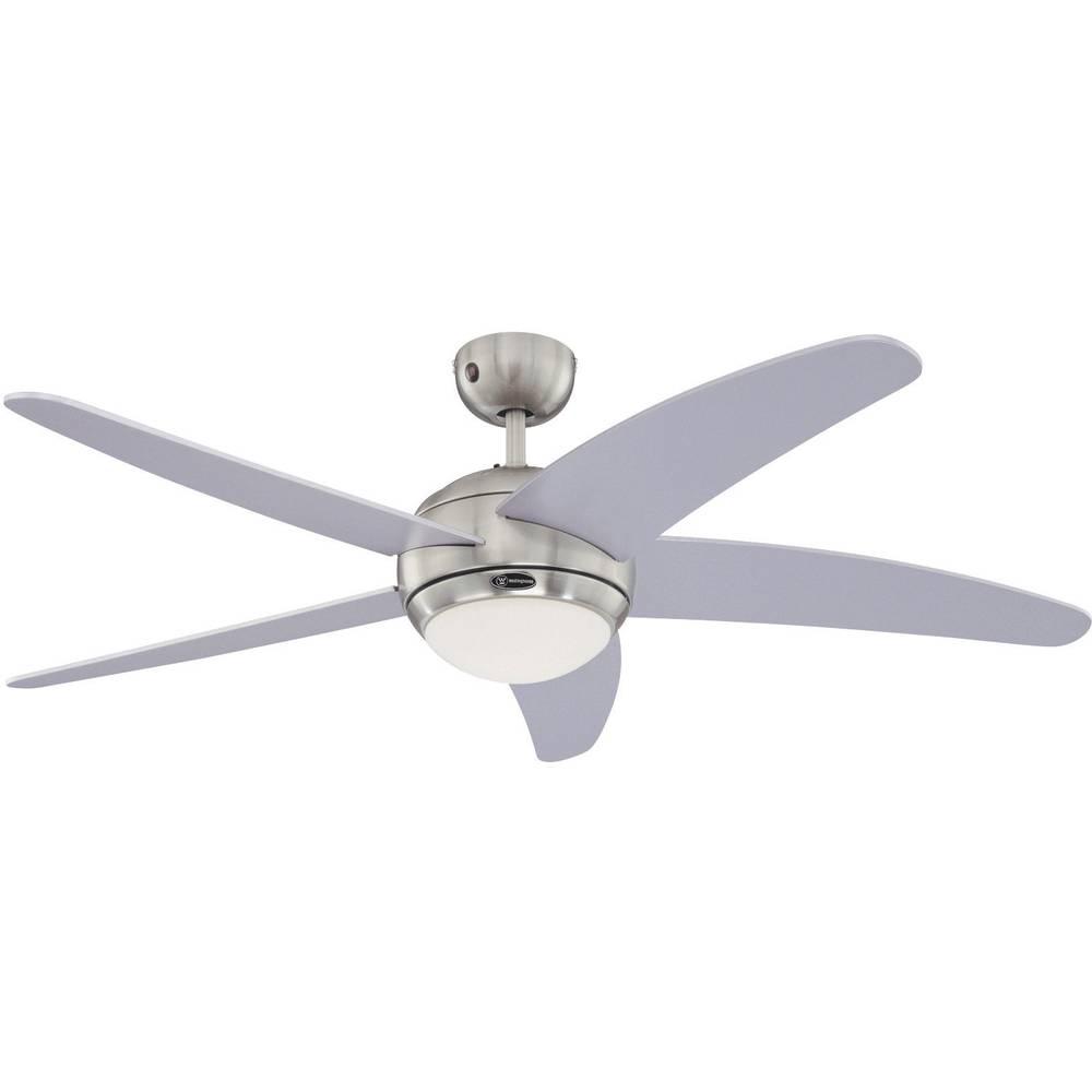 Stropni ventilator Westinghouse Bendan srebrni 132 cm boja krila: srebrna, boja kućišta: krom 72220