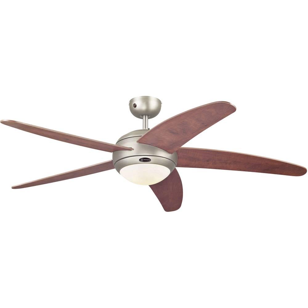 Stropni ventilator Westinghouse Bendan kositar/jabuka (promjer) 132 cm boja krila: drvo, boja kućišta: kositar