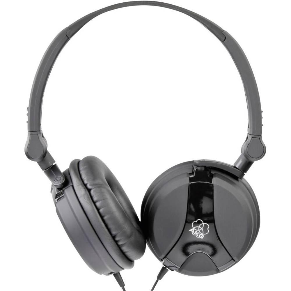 DJ naglavne slušalke AKG K 518DJ BLK K518BLK